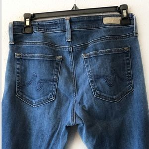 AG   Farrah High Rise Skinny Jeans Size